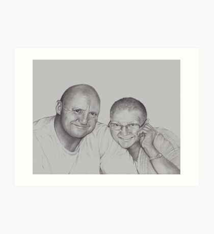 Mother and Son Art Print