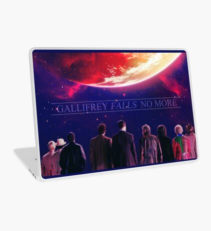 Gallifrey falls no more Laptop Skin