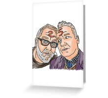 Vic and Bob Greeting Card