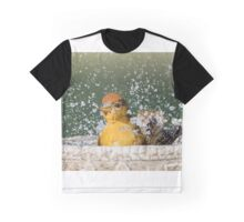 Summer Tanager Making a Splash in November Graphic T-Shirt