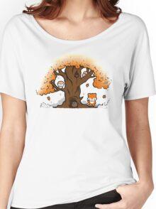 Autumn Friends Women's Relaxed Fit T-Shirt