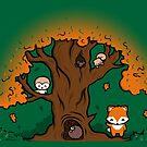 Autumn Friends by perdita00