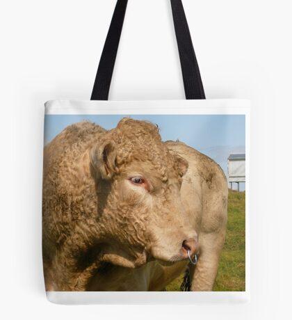 Profile of a Bull -Ireland Tote Bag