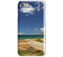 Lonely Surfboard iPhone Case/Skin