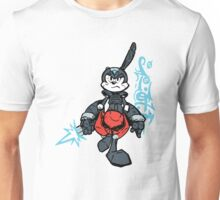 I have been looking at too much Megaman.  Unisex T-Shirt