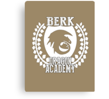 Berk Dragon Academy Tee Canvas Print