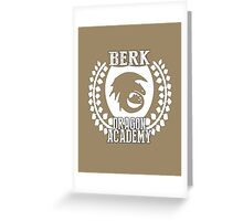 Berk Dragon Academy Tee Greeting Card