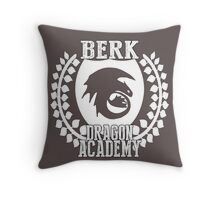 Berk Dragon Academy Tee Throw Pillow