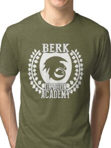 Berk Dragon Academy Tee Tri-blend T-Shirt
