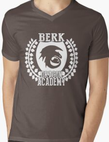 Berk Dragon Academy Tee Mens V-Neck T-Shirt