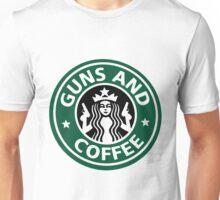 guns and coffee RC Unisex T-Shirt