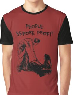 People Before Profit Graphic T-Shirt