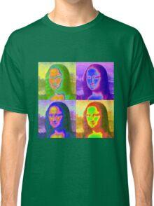 Mona Lisa Pop Art Classic T-Shirt