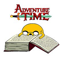 Adventure Time To Study Photographic Print