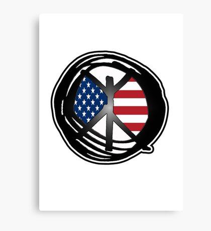 american peace Canvas Print
