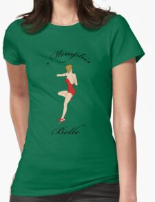 Memphis Belle...the beautiful Lady herself! Womens Fitted T-Shirt