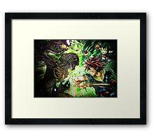 Lavos Core Framed Print