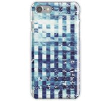 Abstract sea pixel pattern  iPhone Case/Skin