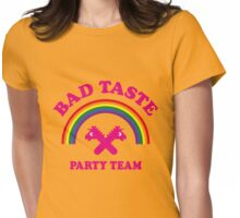 Bad Taste Party Team (Unicorn / Rainbow) Womens Fitted T-Shirt