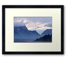 Mysterious Land - Travel Photography Framed Print