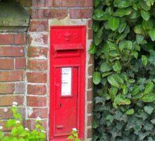 Rural Postbox Sticker