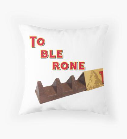 toblerone new triangle Throw Pillow