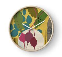 Beetroot Clock