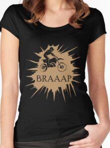 BRAAAP Splash Women's Fitted Scoop T-Shirt