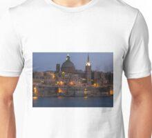 Valletta at Night Unisex T-Shirt
