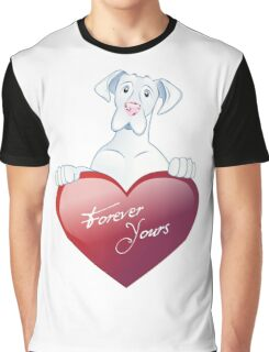 Valentine's Dane - Forever Yours Graphic T-Shirt