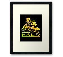 Halo - Gold Framed Print