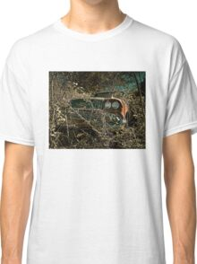 Abandoned and Overgrown - 1958 Chevy Impala Classic T-Shirt