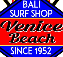 Surfer VENICE BEACH California Surfing Surfboard Ocean Beach Vacation Sticker