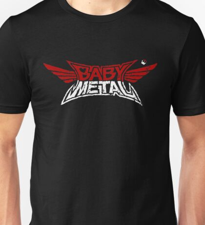 Babymetal - Logo en blanco y rojo Unisex T-Shirt
