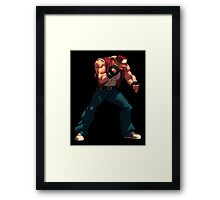 Terry Bogard Framed Print
