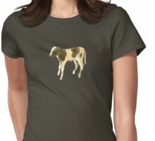 Sweetheart Calf Womens Fitted T-Shirt