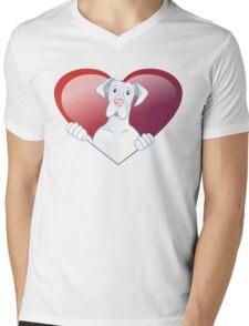 Valentine's Dane - Always In My Heart Mens V-Neck T-Shirt