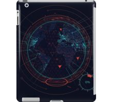 Sci-fi futuristic interface iPad Case/Skin
