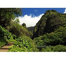 Iao Needle - Iao Valley Photographic Print