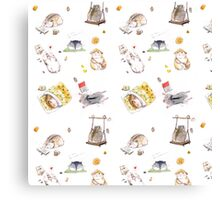 Fluffy Hamster Canvas Print