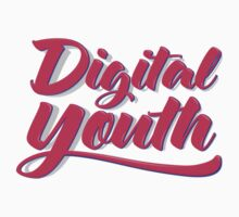 Digital Youth! Young & Trendy Typography  Baby Tee
