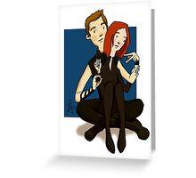 Clint and Natasha OTP Greeting Card