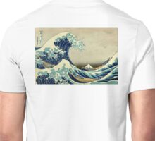 Hokusai, The Great Wave off Kanagawa, Japan, Japanese, Wood block, print Unisex T-Shirt