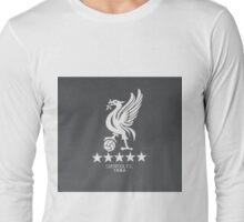 Liverpool Flat Design#2 Long Sleeve T-Shirt