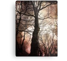 Alone in a Crowd Metal Print