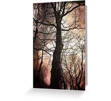 Alone in a Crowd Greeting Card