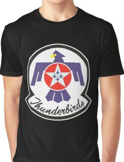 United States Air Force Thunderbirds crest Graphic T-Shirt