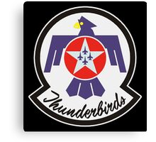 United States Air Force Thunderbirds crest Canvas Print