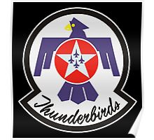 United States Air Force Thunderbirds crest Poster
