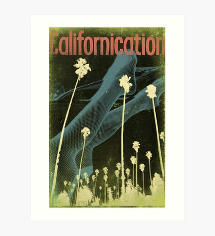 Californication Conceptual Poster Art Print